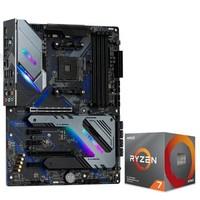 ASRock 華擎 X570 Extreme 4主板 AMD 銳龍7 3700X 板U套裝
