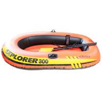 京東PLUS會員 : INTEX 58331 探險者雙人氣墊船