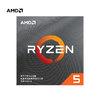 AMD 锐龙 Ryzen5 3600 盒装 CPU处理器