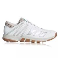 adidas 阿迪達斯 運動鞋男款休閑鞋網羽兩用 Wucht P5系列 男子羽毛球鞋減震耐磨透氣 DB2170 亮白 41碼/7.5 *3件