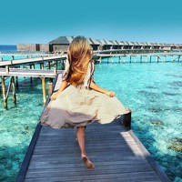 值友专享、旅游尾单:全国多地-马尔代夫欢乐岛6天4晚自由行(4晚沙屋+早中晚餐)