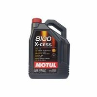 MOTUL 摩特 8100X-CESS 全合成汽车发动机油润滑油 5W-40 SN级 5L 欧盟进口