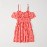 狂暑来袭:Abercrombie & Fitch 215406 女士露肩连衣裙