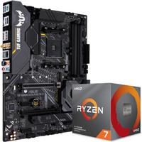 ASUS 华硕 TUF GAMING X570-PLUS 主板 + AMD 锐龙 Ryzen 3700X 处理器 板U套装