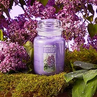 Yankee Candle 扬基香薰无烟蜡烛 Lilac Blossoms 薰衣草大瓶装 623g