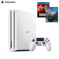 SONY 索尼 PlayStation4 Pro(PS4 Pro)游戏主机 国行 + 《荒野大镖客2》《战神4》