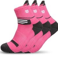 Wilson 威爾勝 WZ094 男士中筒襪 3雙裝