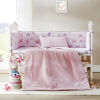 LOVO BABY 小小花园 婴儿床品8件组 水洗棉