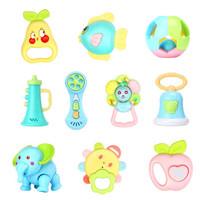 迪士尼 婴幼儿牙胶手摇铃 (十只装)5折