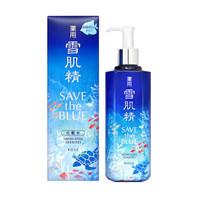 SEKKISEI 雪肌精 蓝色宣言环保限量版 化妆水 500ml *2件