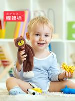 棒棒猪婴儿安抚巾毛绒玩具