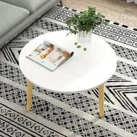 HOMEBI 家世比 简易方形餐桌 木纹色 宽80cm