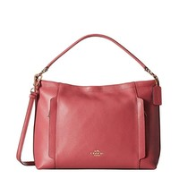 COACH 蔻驰 Pebbled Leather Scout Hobo Cross-Body Bag 女士斜挎包