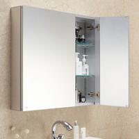 历史低价 : MOEN 摩恩 洛奇系列 BCM07-003BS 浴室镜柜 600mm