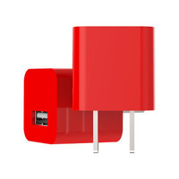 LRKER数据线套装iPhone6s充电器5s/6/6plus/7/8/X快充苹果USB充电头 iphone充电器【红色】