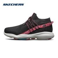 Skechers斯凯奇女鞋新款时尚一脚套健步鞋 潮流运动休闲鞋 15672