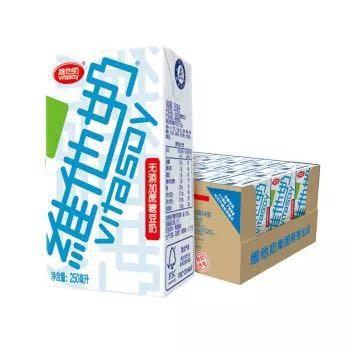 维他奶 无糖豆奶 250ml*24盒