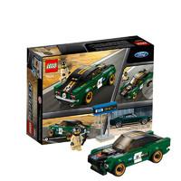 考拉海购黑卡会员:LEGO 乐高 超级赛车系列 75884 1968款福特野马