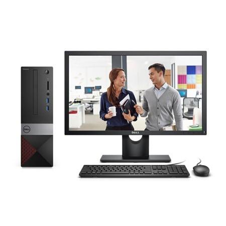DELL 戴尔 成就3470 21.5英寸 台式电脑整机(i3-9100、8G、1T)