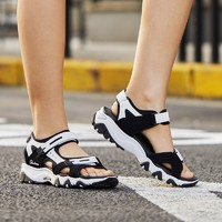 SKECHERS 斯凱奇 D'LITES 32999 女款熊貓涼鞋