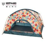 NORTHLAND 諾詩蘭 A990148 春夏防曬UPF40 露營雙人登山帳篷