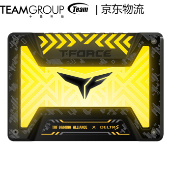 Team 十铨 TUF DELTA RGB SSD固态硬盘
