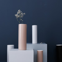 圓柱陶瓷花瓶