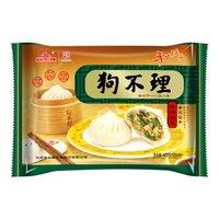京东PLUS会员:狗不理 手工猪肉韭菜包 420g