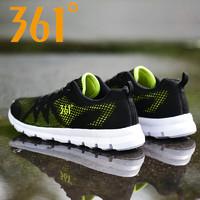 361男鞋2019新款網面透氣夏季新款軟底361°正品運動鞋男跑步鞋男