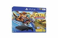 PlayStation 4 - 控制臺 黑色 Crash Team Racing Bundle