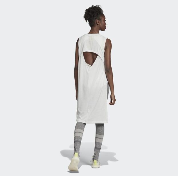 adidas 阿迪达斯 LONG TUNIC WL DT4137 女子运动型格连衣裙
