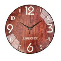卡汐沐 靜音掛鐘無框家用客廳臥室鐘表石英鐘表