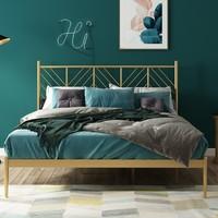 历史低价:A家家具 ins风铁艺床 1.5m