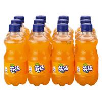 限京晋蒙:Fanta 芬达 橙味汽水 碳酸饮料 300ml*12瓶