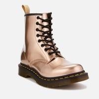 银联专享:Dr. Martens 1460 经典款 女款亮面金属色马丁靴