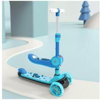 貝恩施 兒童二合一滑板車
