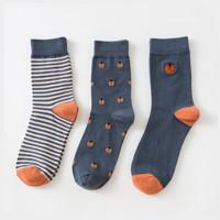 Caramella 焦糖玛奇朵 531593 男士长袜 3双装