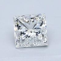 Blue Nile 1.00克拉 公主方形钻石(切工VG,成色G,净度SI2)