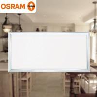 歐司朗(OSRAM)吸頂燈LED廚衛燈鑲入式集成吊頂平板燈 18W 暖白色(中性光)