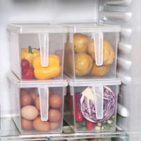 99划算节:BELO 百露 冰箱保鲜收纳盒 4个装尺寸 30*15*15cm