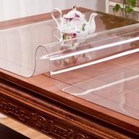 博虹 PVC防燙塑料桌墊 60*60cm 透明款