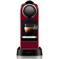 中亚Prime会员:NESPRESSO KRUPS Citiz XN741540 胶囊咖啡机 红色