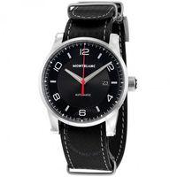 银联专享:MONTBLANC Timewalker Urban Speed UTC E-Strap 113850 男士机械腕表