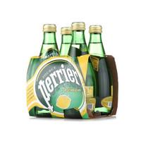 网易考拉黑卡会员:Perrier 巴黎水 含气柠檬味饮料 330ml*24瓶