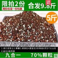 惠立多肉土專用顆粒營養土 九合一70%顆粒 2.5KG 包郵