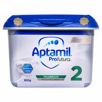 Aptamil 爱他美 白金 进口奶粉 婴幼儿配方奶粉800g 2段 (2段、6-12个月、401-800g)