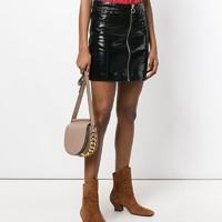 真心好礼、好物种草:GIVENCHY 纪梵希 INFINITY 系列 女士磨面皮革金属链装饰单肩斜挎包马鞍包