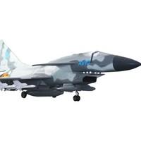 維茵 1:4 殲10 戰斗機 仿真模型 迷彩色