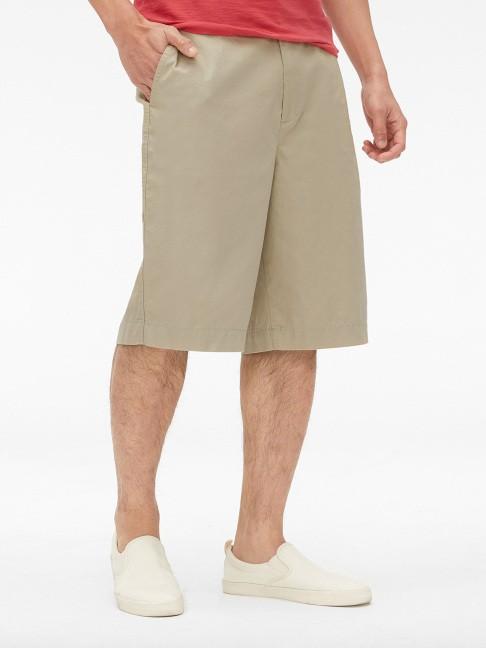 Gap 盖璞 473507 男士纯色休闲短裤