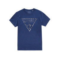 限尺码:GUESS 1058269 男士短袖T恤